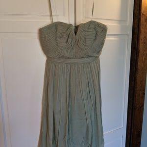 J Crew Nadia Dress size 4 seafoam